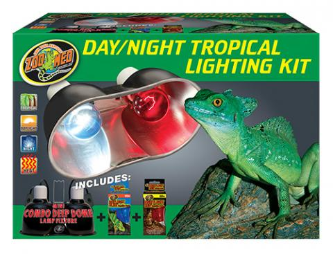 Zoo Med Day Night Tropical Lighting Kit For Sale