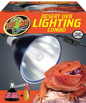 Zoo Med Desert UVB Lighting Combo