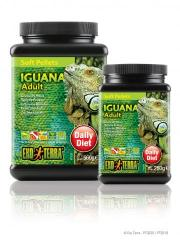 Exo Terra Soft Pellets Adult Iguana Food