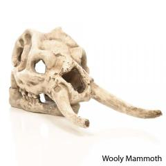 Penn Plax Wooly Mammoth Skull Cage Ornament