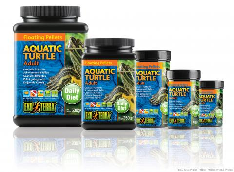 Exo Terra Floating Pellet Adult Aquatic Turtle Food 18.6oz