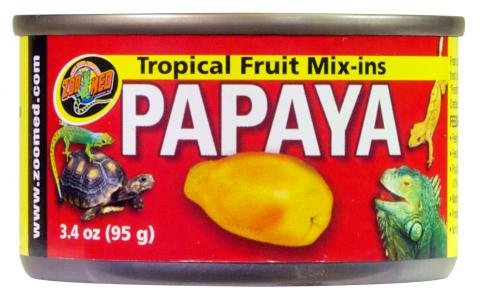 Zoo Med Tropical Fruit Mix-ins Papaya