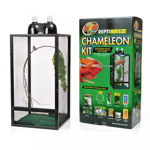 how to clean your chameleon cage