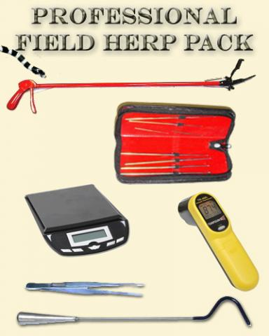Professional Field Herp Package