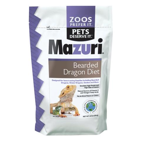 Mazuri Bearded Dragon Diet 8oz