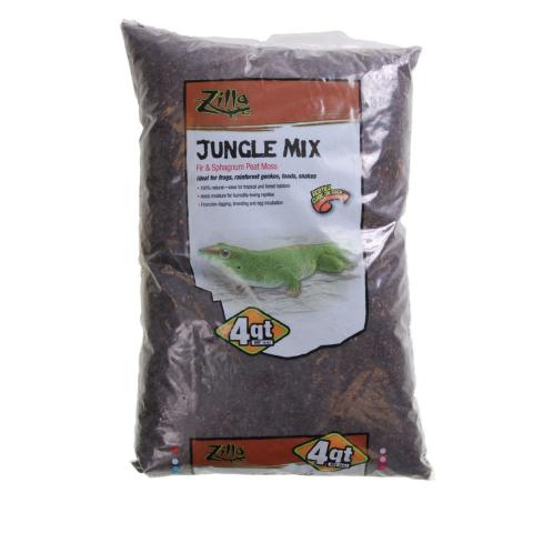 Zilla Jungle Mix Bedding 4 Quart