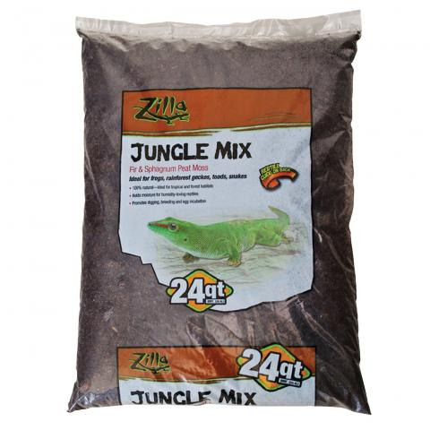 Zilla Jungle Mix Bedding 24 Quart