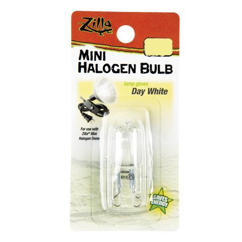 Zilla Mini Halogen Bulb Day White 25 Watt For Sale
