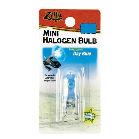 Zilla Mini Halogen Bulb Day Blue 25 watt