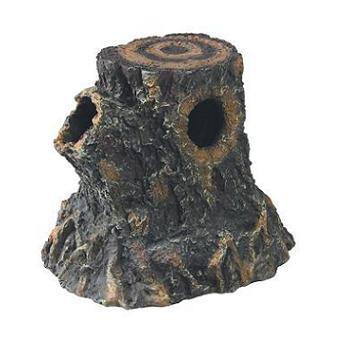Zilla Basking Stump Den Medium