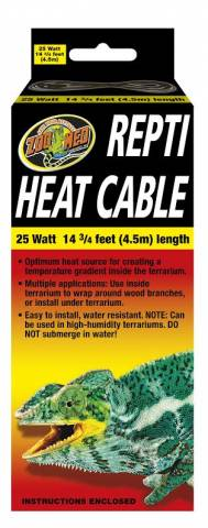 Zoo Med 14 75 Foot Repti Heat Cable For Sale