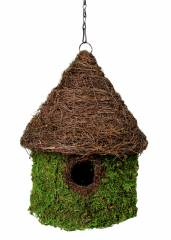 Galapagos Bungalow Hide / Birdhouse with chain