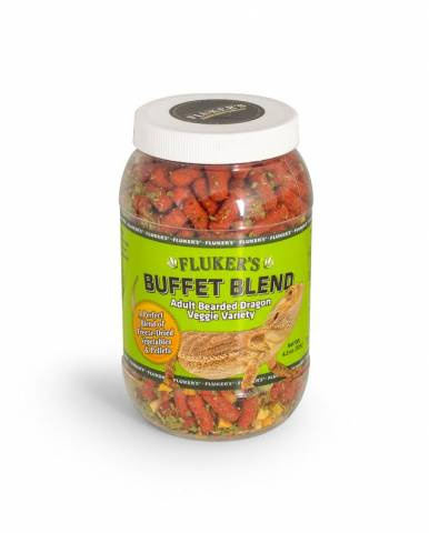 Flukers Buffet Blend Adult Bearded Dragon Veggie Variety