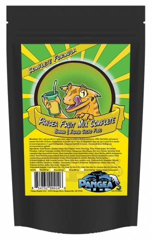 Pangea Fruit Mix Banana Papaya Complete Gecko Diet 10 pound