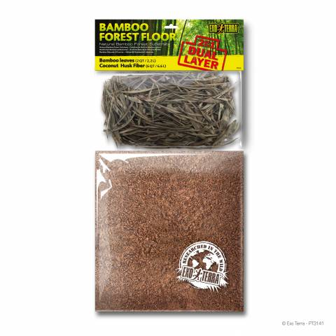 Exo Terra Bamboo Forest Floor Substrate 8 quarts