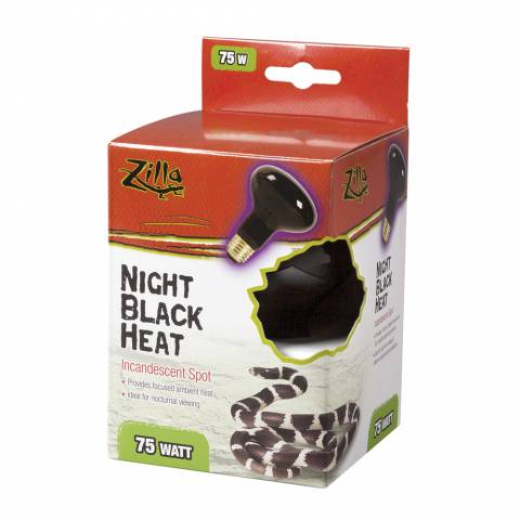 Zilla Incandescent Night Black Spot Bulb 75 watts