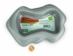 Zilla Durable Dish Gray Large