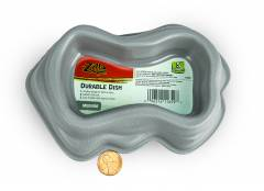 Zilla Durable Dish Gray Medium