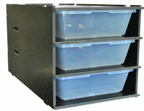 Vivarium Electronics CB70 3 Tub Series 2 Rack