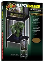 Zoo Med ReptiBreeze Stand With Shelf (small)