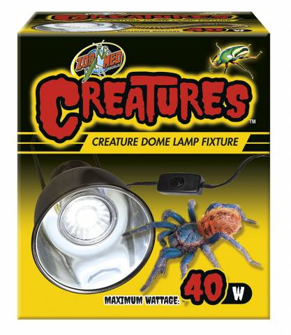 Zoo Med Creatures Dome Lamp Fixture