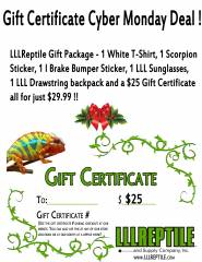 LLLReptile Holiday Gift Package