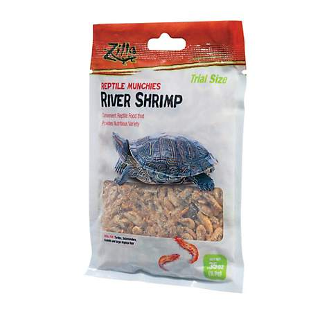 Zilla Reptile Munchies River Shrimp Trial Size .35oz