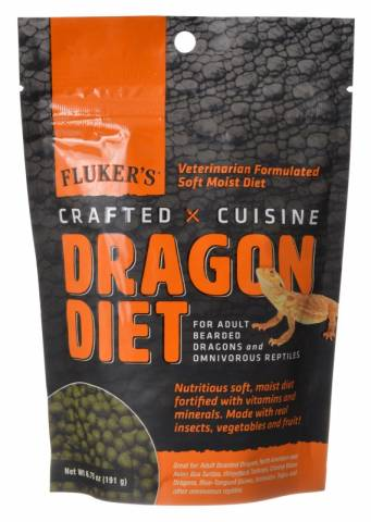 Flukers Crafted Cuisine Adult Dragon Diet 6.75oz
