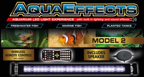 Zoo Med AquaEffects Model Two LED Fixture 48 inch