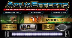 Zoo Med AquaEffects Model Two LED Fixture 18 inch