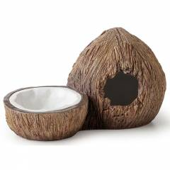 Exo Terra Coconut Hide and Water Dish