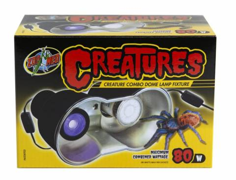 Zoo Med Creatures Combo Dome Lamp