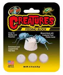 Zoo Med Creatures Feeding Block