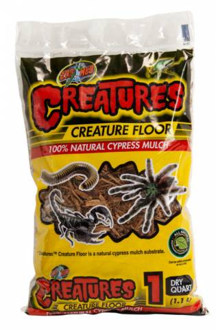 Zoo Med Creature Floor Cypress Mulch 1 quart