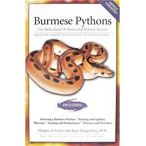 Burmese Pythons Manual