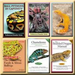 Learn everything you can about your pets! We stock HUNDREDS of reptile and invertebrate books ranging from basic care to veterinary treatment.