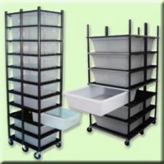 Reptile Breeding Racks