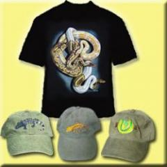 Reptile T-shirts, Hats & Sunglasses