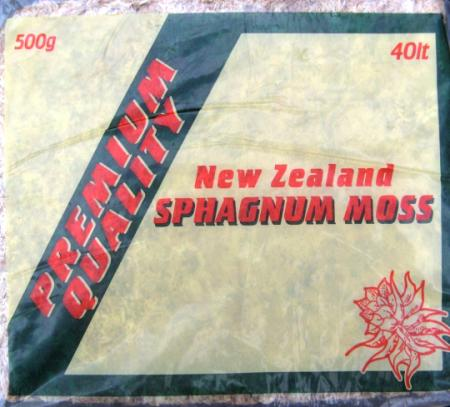 New Zealand Sphagnum Moss 3 KG