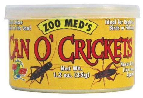 Zoo Med Can O' Crickets large