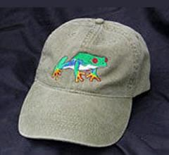 Red Eyed Tree Frog Hat