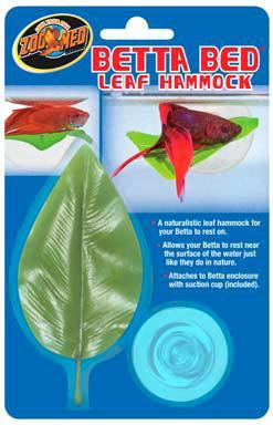 a naturalistic leaf hammock for your betta to rest on  allows your betta to rest near the surface of the water just like they do in nature  zoo med betta bed leaf hammock for sale  rh   lllreptile