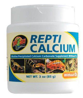 Zoo Med Repti Calcium WITHOUT D3- 12 oz