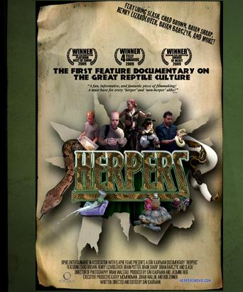 Herpers - Feature Documentary DVD