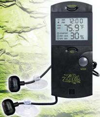 Zilla Digital Thermometer / Hygrometer with probe