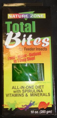 Nature Zone 10 ounce Cricket Total Bites