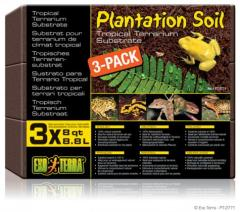 Exo Terra Plantation Soil Substrate Brick 3 pack
