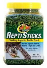 Zoo Med Repti Sticks Floating Turtle Food 8oz