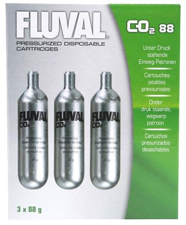 Fluval Replacement CO2 Cartridge 3pk .7oz