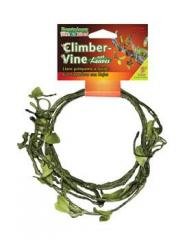 Penn Plax 5' Climber Vine with leaves 1/4""